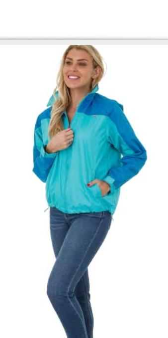 Uzzi WindBreaker Jacket light blue