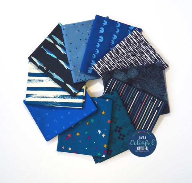 Sew Colorful Classic Blue Bundle