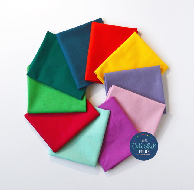 Sew Colorful Summer Solids