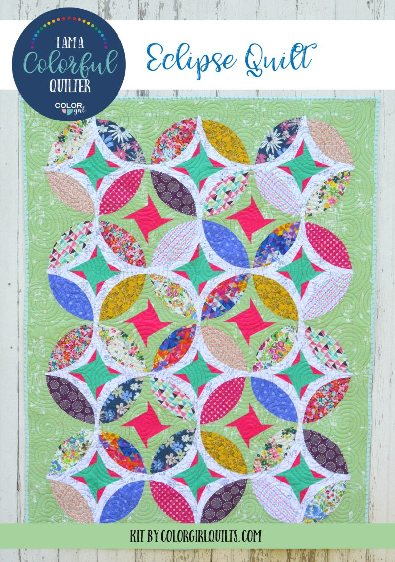 Eclipse Quilt Kit -Green