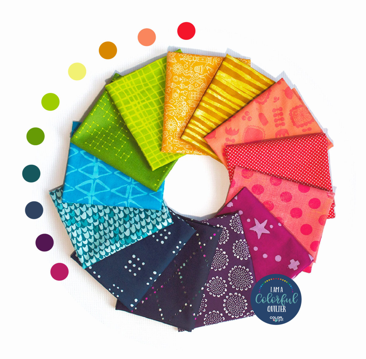 Sew Colorful Rainbow Bundle