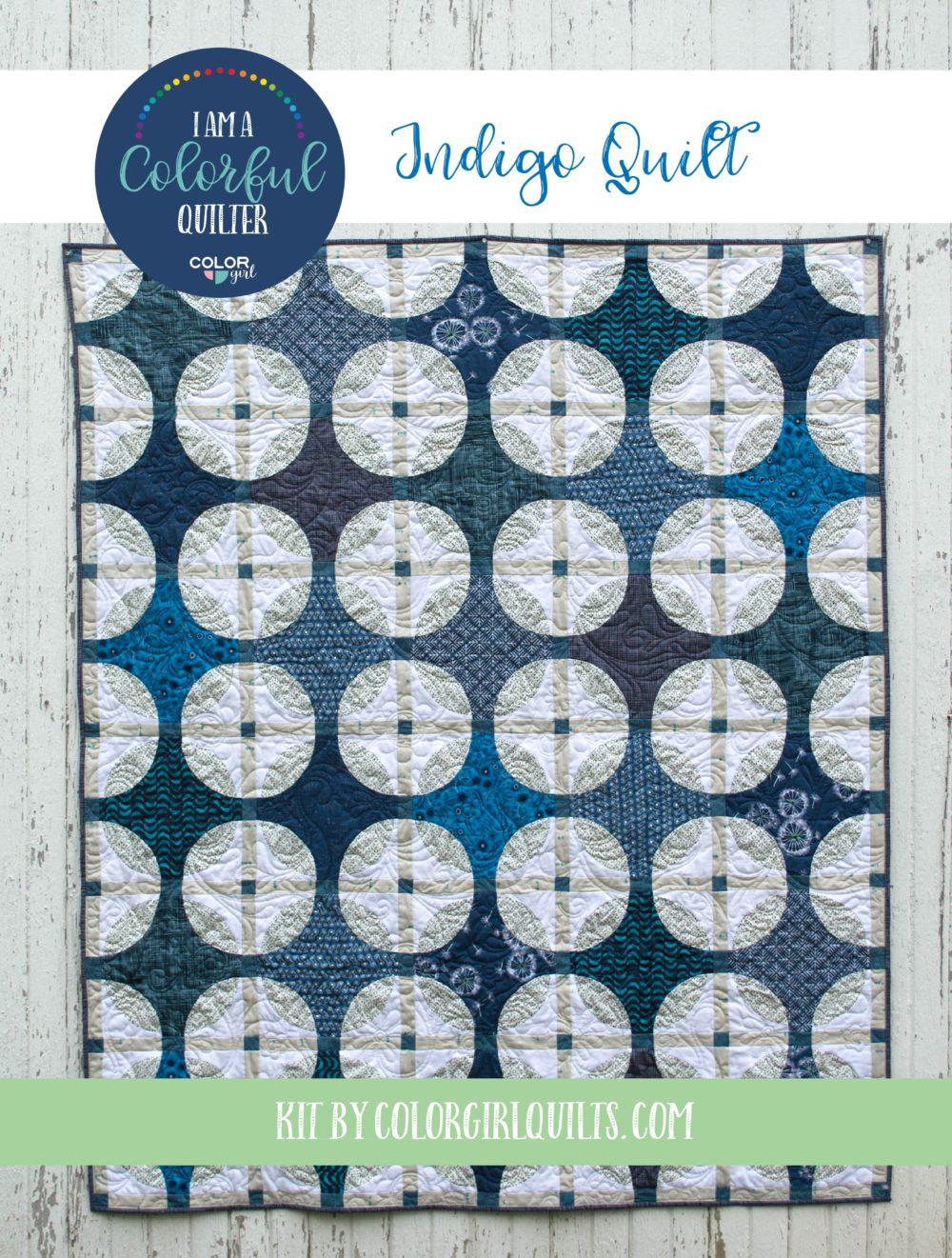 Indigo Quilt Kit