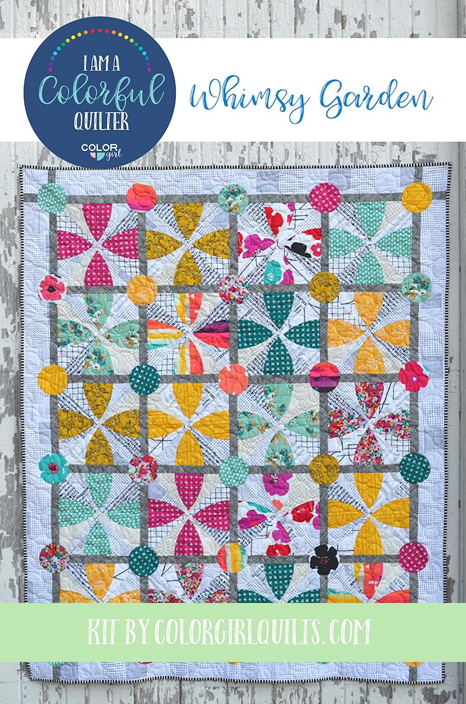 Whimsy Garden Quilt Kit