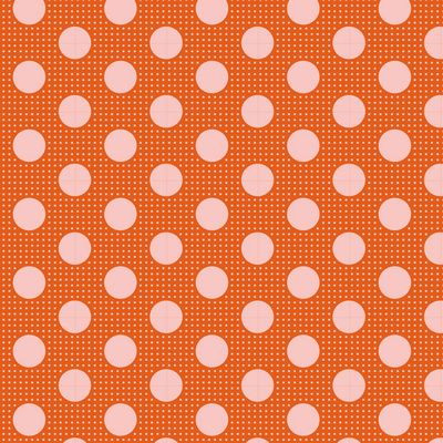 Tilda Dots -Citrus