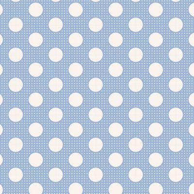Tilda Dots -Medium Blue