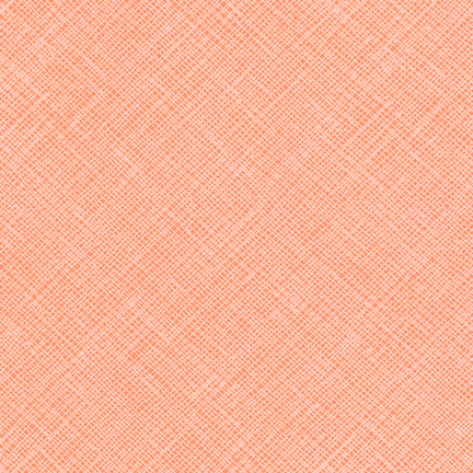 Crosshatch -Peach
