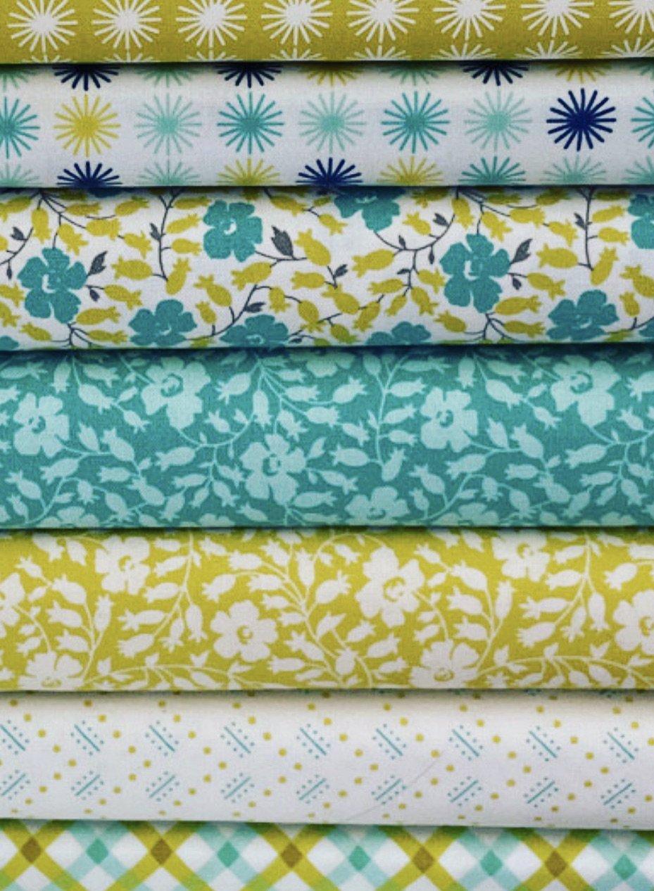 Flowers for Freya, Fat Quarter Fabric Bundle