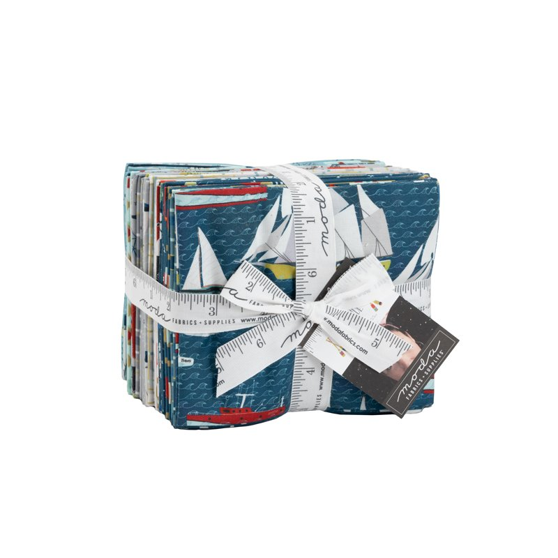 Lakeside Story Fat Quarter Bundle, 23 pieces, by Mara Penny