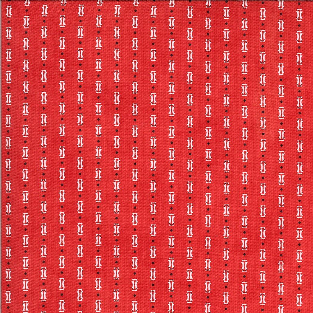 Figs Shirtings, Papas Pajamas, Barn Red, 20396-23