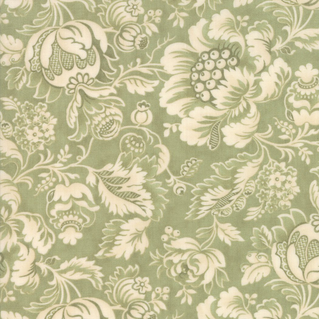 Marches De Noel, Mistletoe fabric designed by 3 Sisters for Moda Fabrics 44231-13
