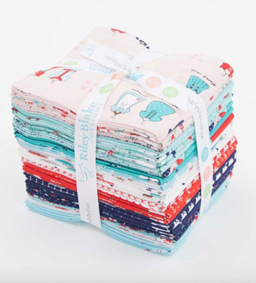 A Little Sweetness Fat Quarter fabric bundle designed by Tasha Noel for Riley Blake Designs