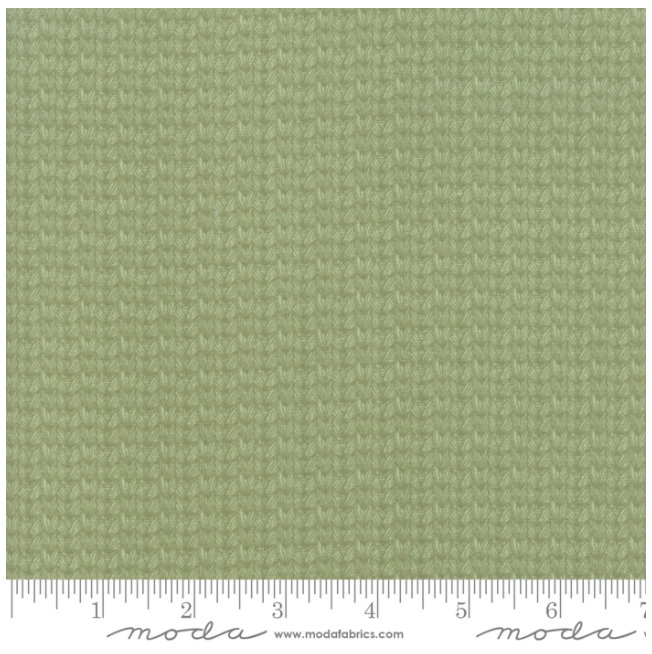 At Home Leaf Green  55204-25 designed by Bonnie & Camille for Moda fabrics