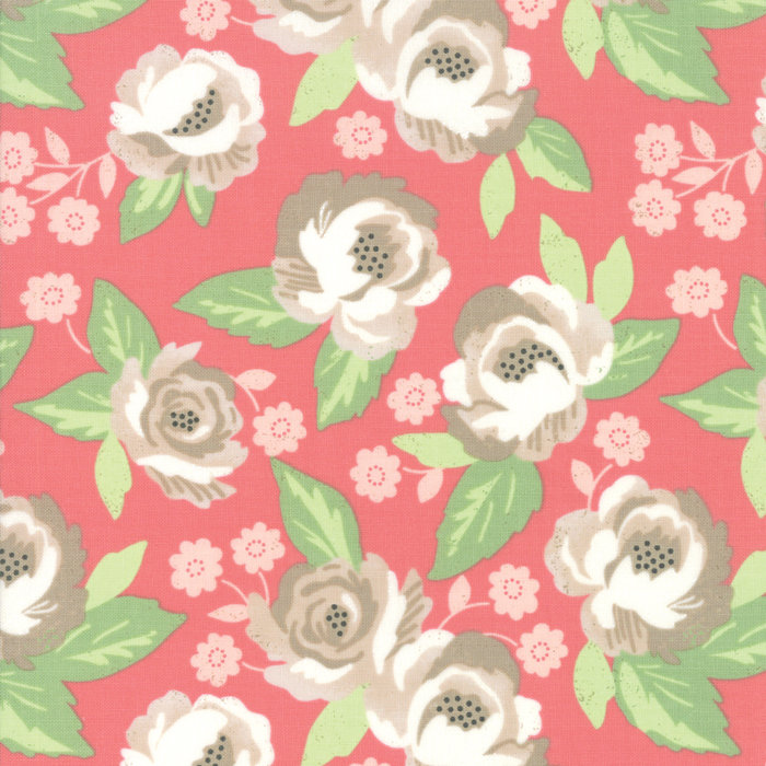 Blomington Faded Blooms Rose 5110-14 designed by Lella Boutique for Moda Fabrics floral metro