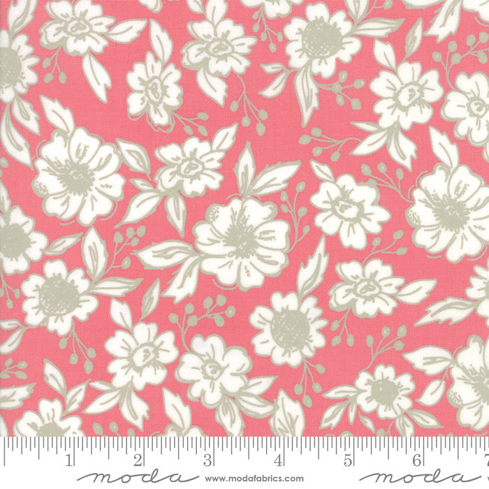 Bloomington Flower Shop Rose designed by Lella Boutique for Moda Fabrics floral metro  5111-14