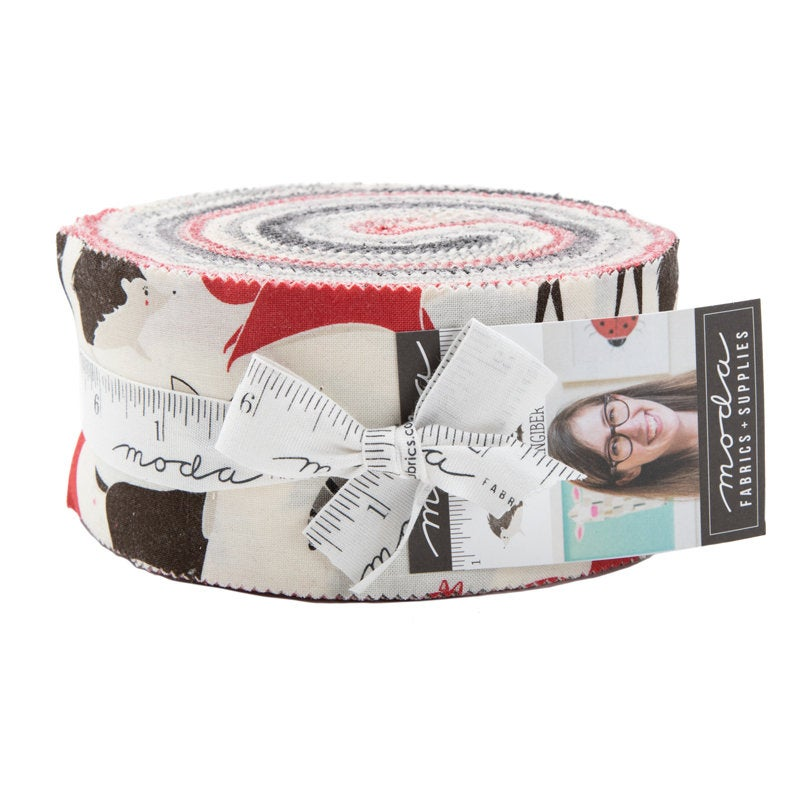 Bramble Jelly Roll  by Gingiber from Moda - Woodland Fabric - Includes 40 Prints 2-1/2 x 42 strips