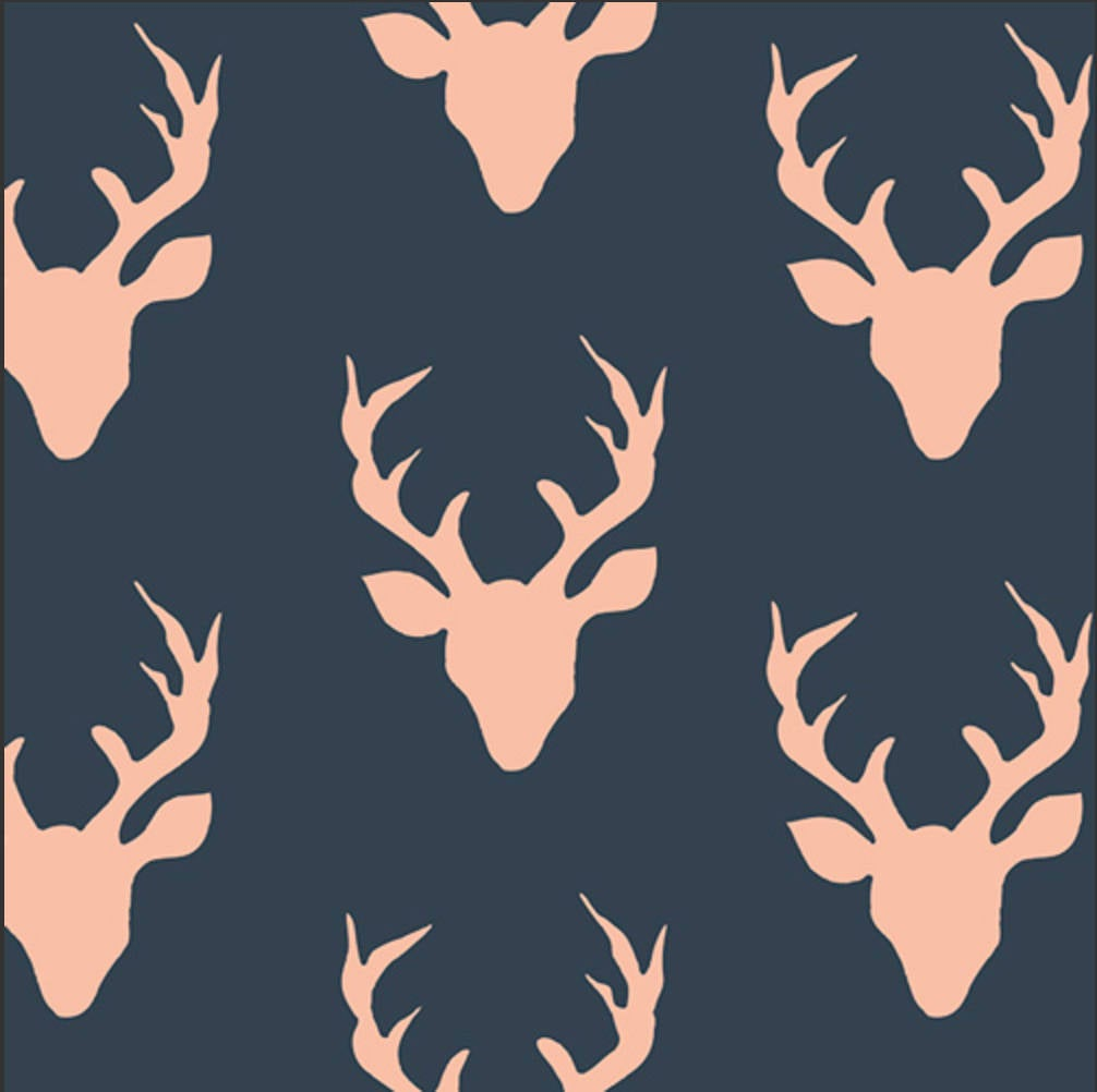 Buck Forest Woodlands designed by Bonnie Christine for Art Gallery Fabrics Boho Fabric Floral Fabric