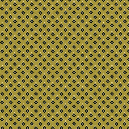 Diamonds and Dots from the Sage and Sea Glass Fabric Collection designed by Kim Diehl for Henry Glass Fabrics HEG1542-66 seaweed green