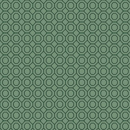 Dotted Hexies from the Sage and Sea Glass Fabric Collection designed by Kim Diehl for Henry Glass Fabrics HEG1544-11