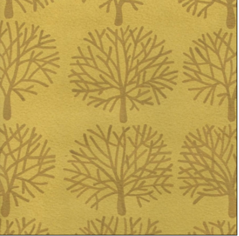 Ghastlie Forest from Alexander Henry Fabrics 7160L Gold