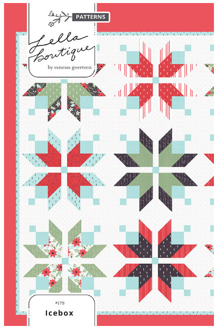 Icebox #179 by Vanessa Goertzen of Lella Boutique for Moda Little Tree fabric collection Christmas