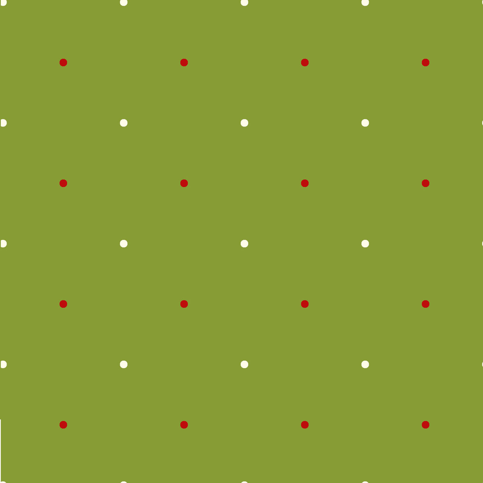Large Dots green  from Ring in The Holly Days collection by Mary Jane Carey for Henry Glass Fabrics Christmas Holidays Festive