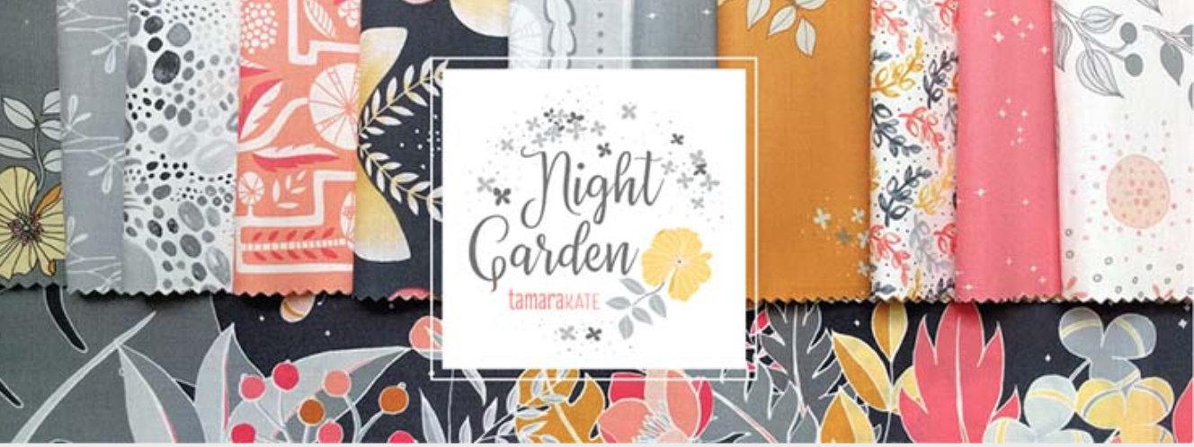 Night Garden by Tamara Kate Fat Quarter Bundle 26 Prints Michael Miller Fabrics