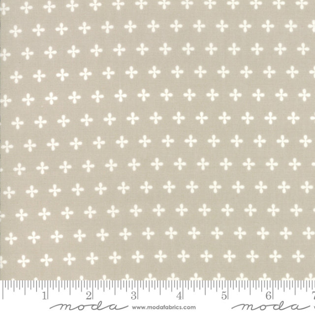 Orchard Apple Seed Stone designed by April Rosenthal for Moda Fabrics plaid 24077-32