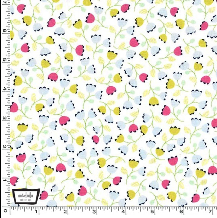 Posy from Flower Shop fabric collection designed by Patty Sloniger for Michael Miller Fabrics