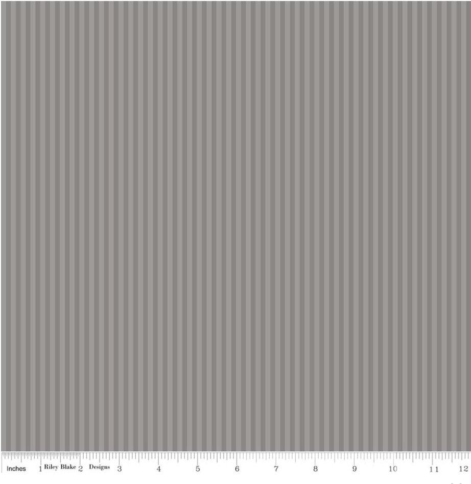 Stripe 1/8 inch  Tone on Tone Gray C225 Gray