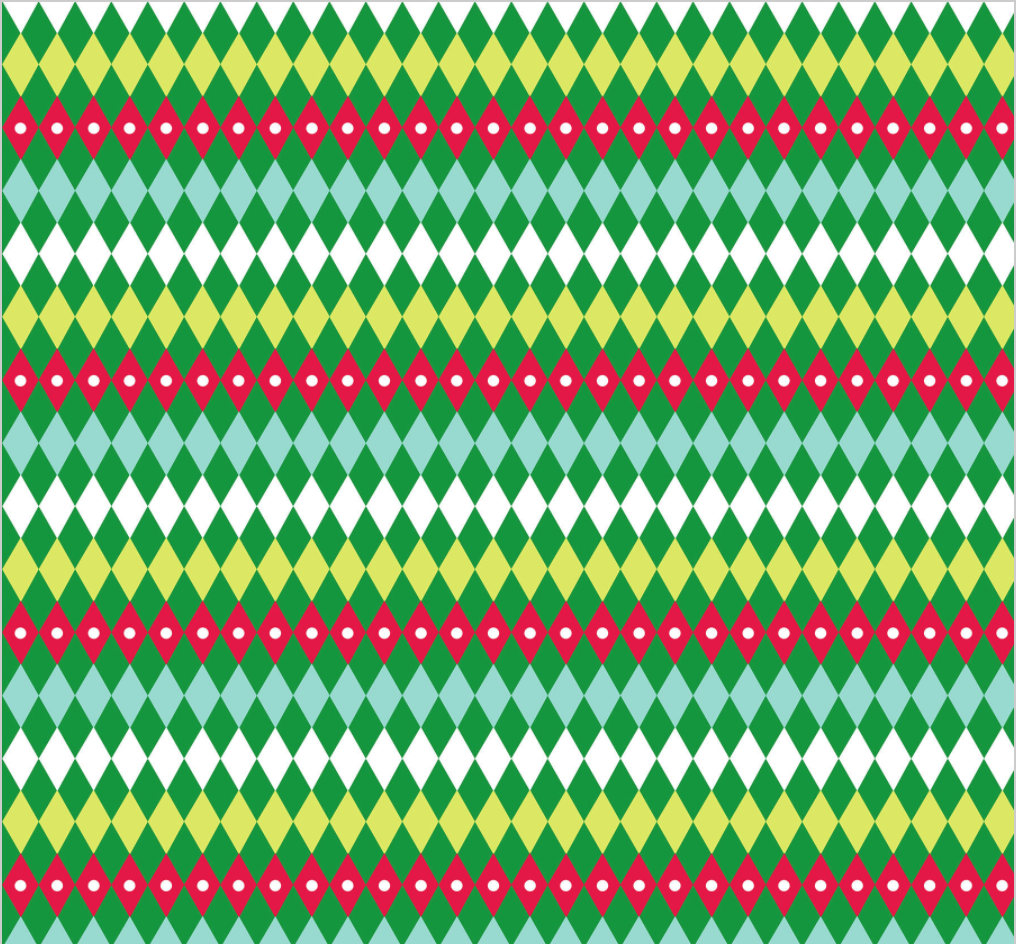 Tartan Green from the All is Bright fabric collection by Maude Asbury for Blend Fabrics Holiday Christmas