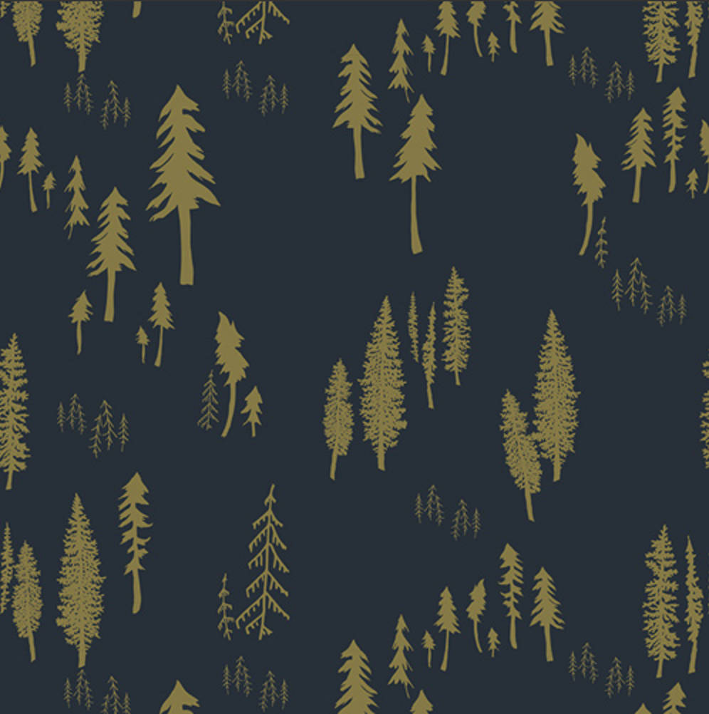 Timberlands Woodlands designed by Bonnie Christine for Art Gallery Fabrics Boho Fabric Floral Fabric