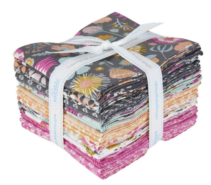 Meadow Lane Fat Quarter, 18pcs