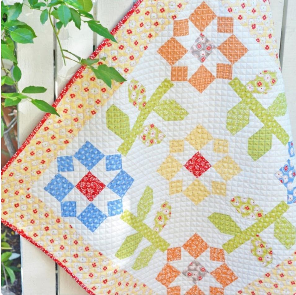 Mini Meadow Quilt Kit
