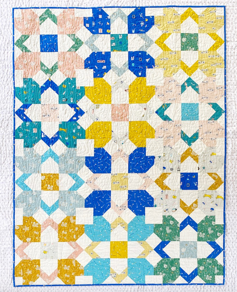 Whatnot Quilt Kit, Inkling