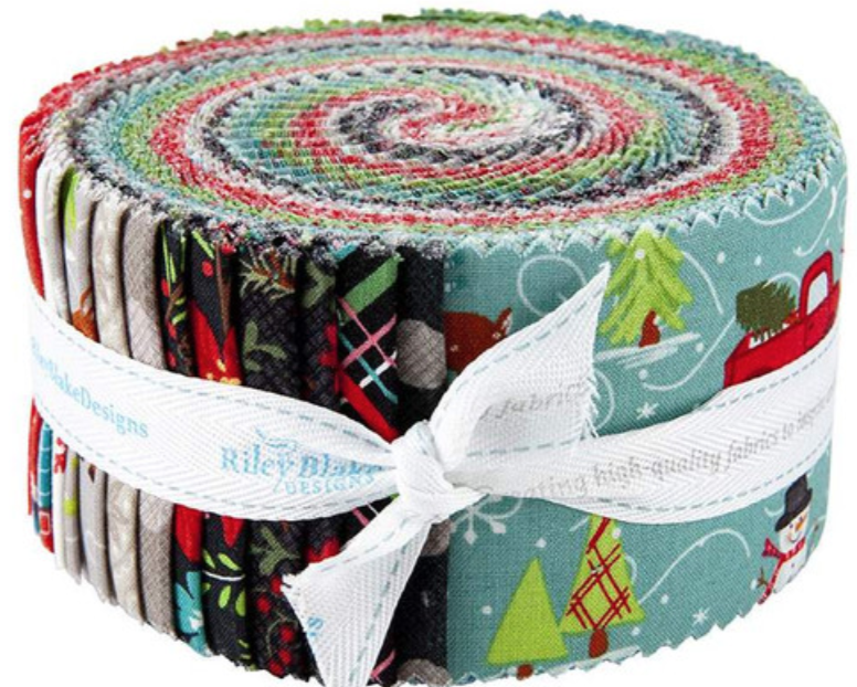 Snowed In Jelly Roll, 40 pieces, 2.5 strips