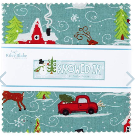 Snowed In Charm Pack, 42 pieces