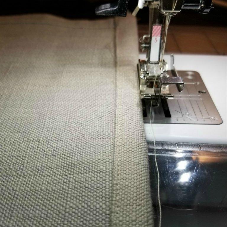 Bernina sewing towel fabric
