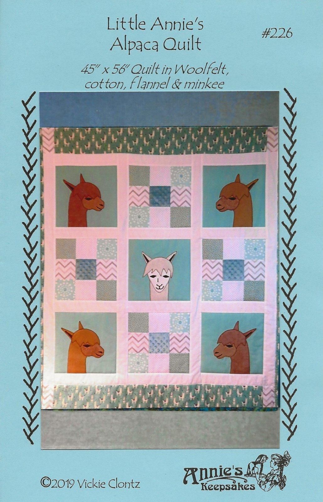 Little Annie's Alpaca Quilt