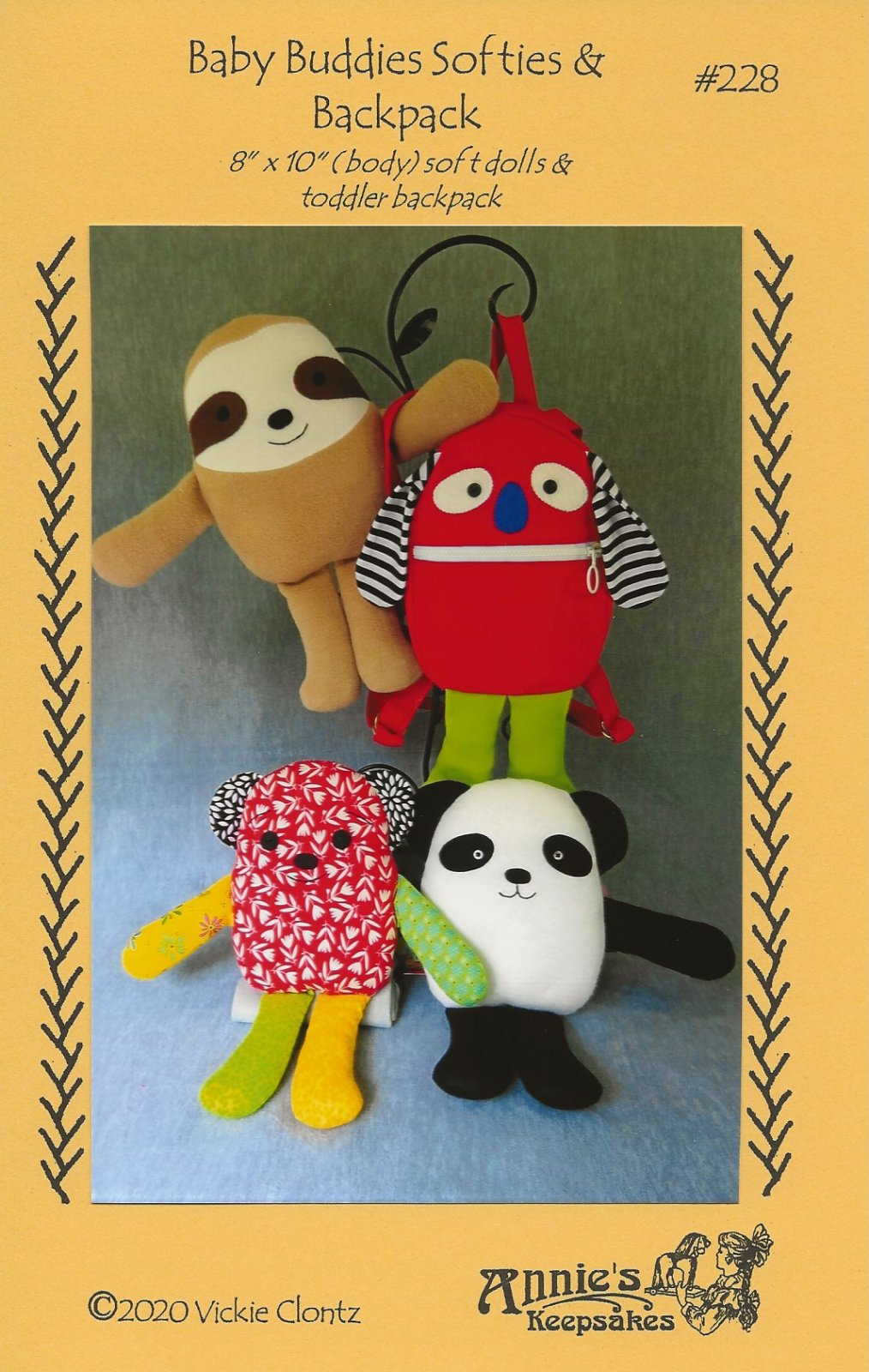 Baby Buddies Softies & Backpack