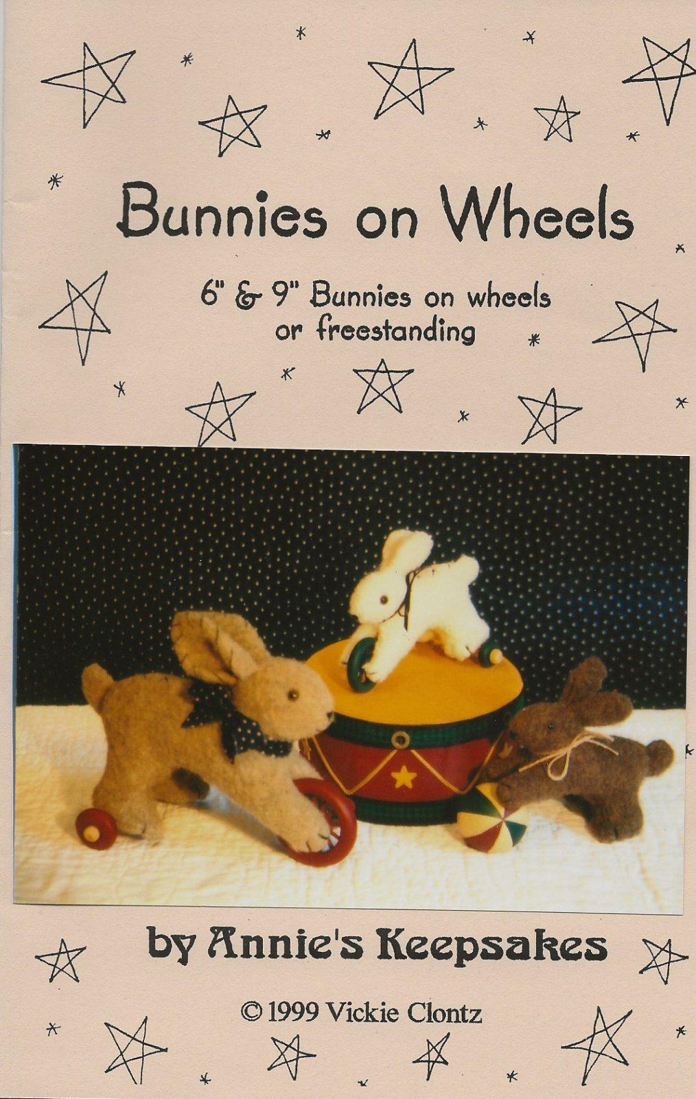 Bunnies on Wheels