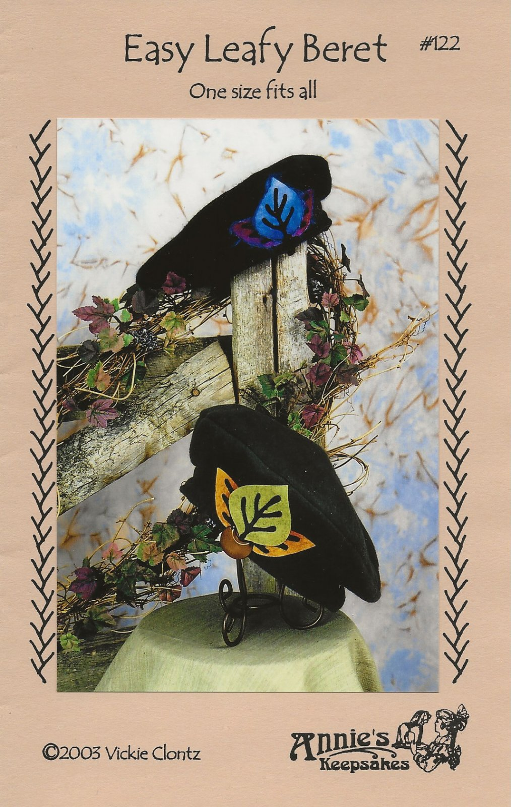 Easy Leafy Beret