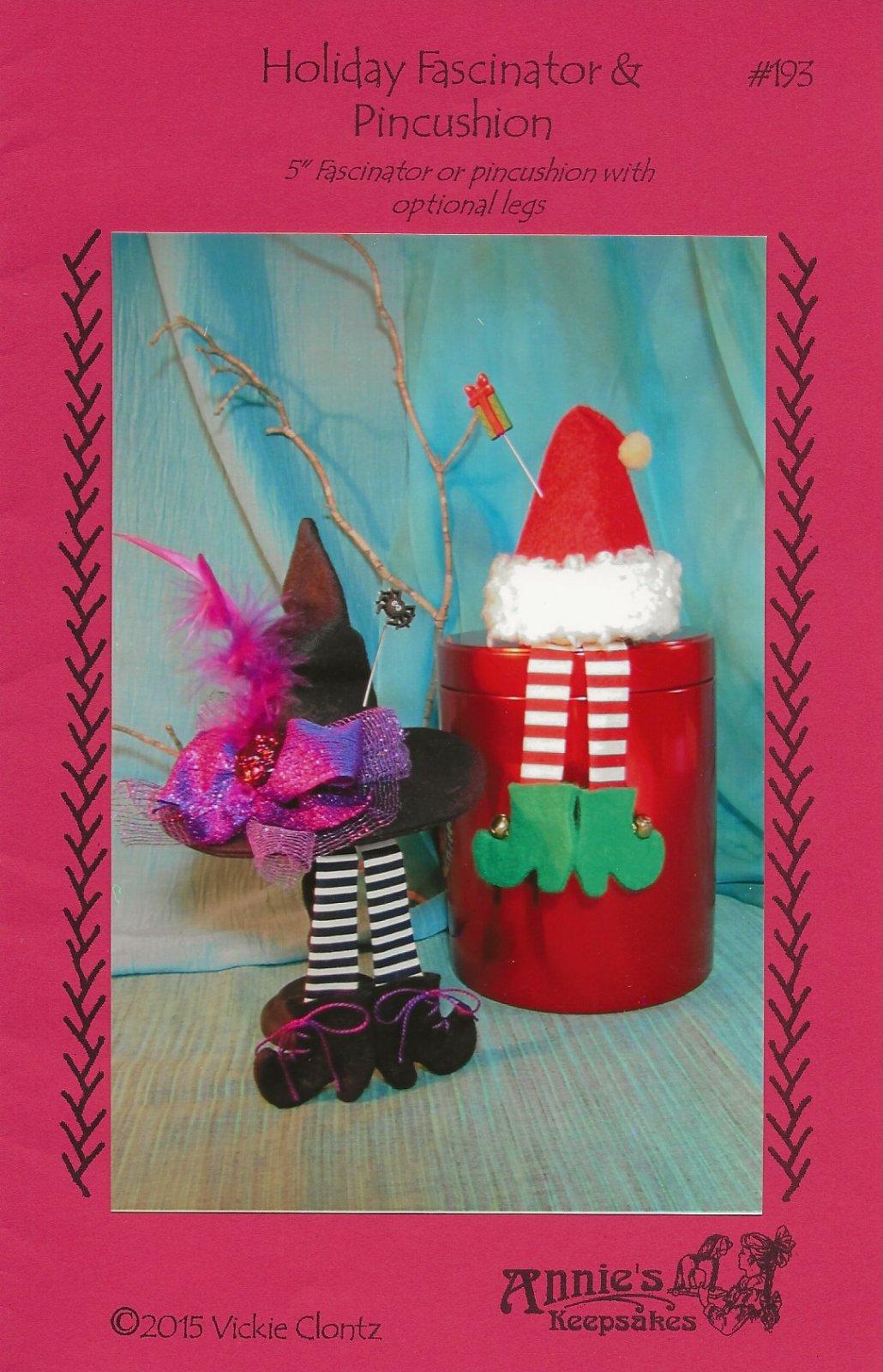 Holiday Fascinator & Pincushion