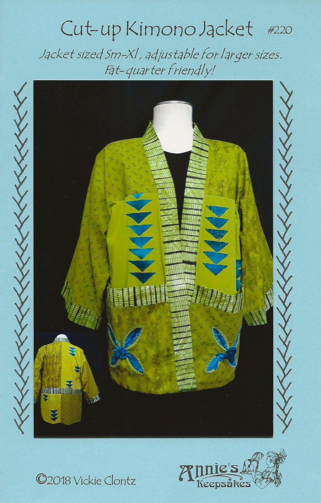 Cut-up Kimono Jacket