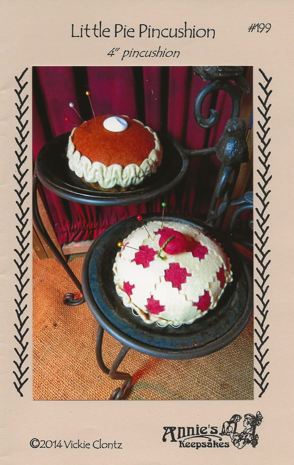 Little Pie Pincushion