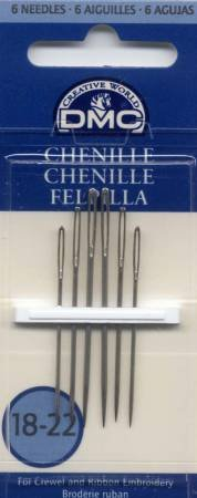 DMC Chenille Sharps Needles Sizes 18/22