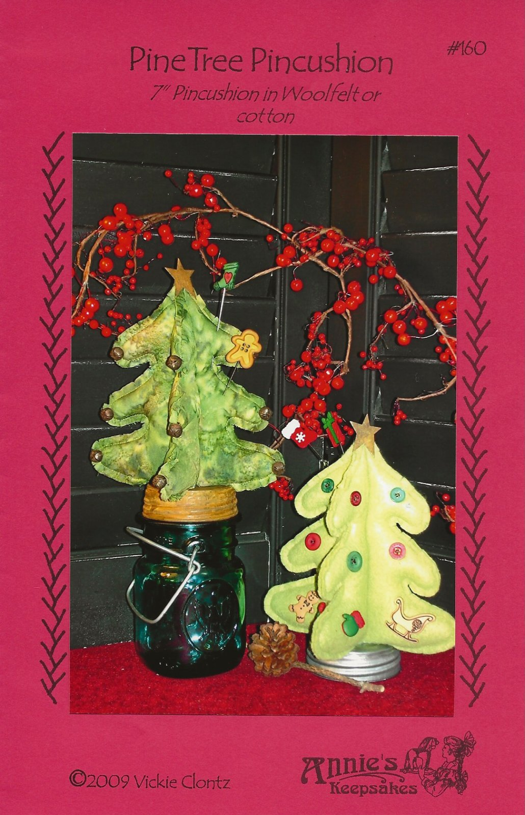 Pine Tree Pincushion