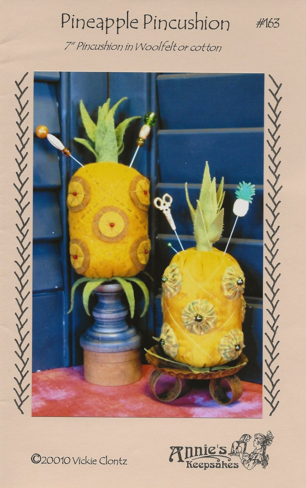 Pineapple Pincushion