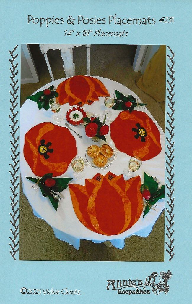 Poppies & Posies Placemats