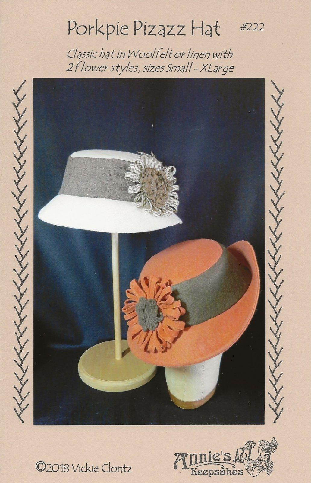 Porkpie Pizazz Hat