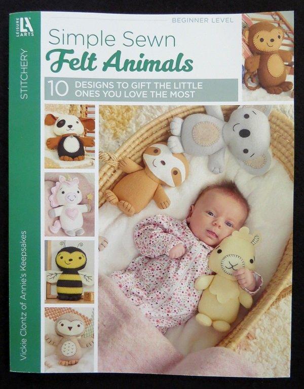 Simple Sewn Felt Animals